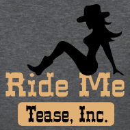 Design ~ Ride Me - Cowgirl: Women's Bargain T Shirt