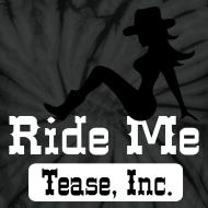 Design ~ Ride Me - Cowgirl: Unisex Tie Dye Tee