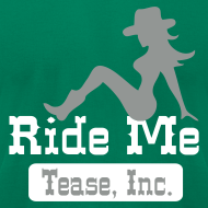 Design ~ Ride Me - Cowgirl: Men's AA T Shirt