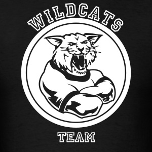 Wildcats or Wilcat Sports Team Mascot T-Shirts - Men's T-Shirt