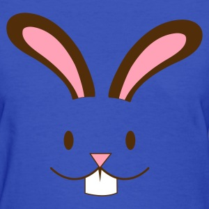 Light blue EASTER rabbit cute face with teeth ! Women's T-Shirts - Women's T-Shirt