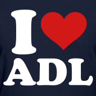 Design ~ Women's I Love ADL Shirt