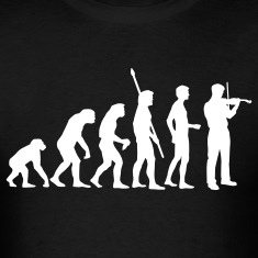 Black evolution_geiger_b T-Shirts
