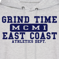 Design ~ MCMI X GRIND TIME ATHLETICS HOODIE