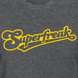Deep heather superfreak_1c_out Women's T-Shirts - Women's T-Shirt