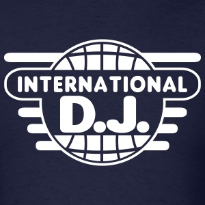 Navy inter_dj_2_1c T-Shirts - Men's T-Shirt