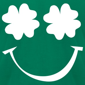 Kelly green St. Patrick's day T-Shirts - Men's T-Shirt by American Apparel