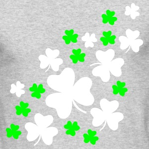 Kelly green Shamrock Long Sleeve Shirts - Men's Long Sleeve T-Shirt by Next Level
