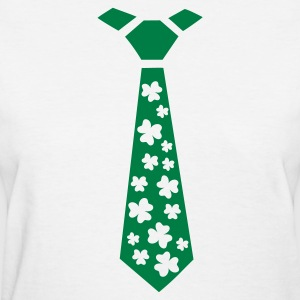 White Shamrocks Women's T-Shirts - Women's T-Shirt