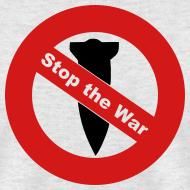 Design ~ Anti War - Stop Bombing Mens T-Shirt