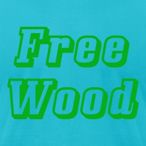 Free Wood - Men's T-Shirt by American Apparel