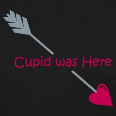 Black Cupid was Here Women's T-Shirts