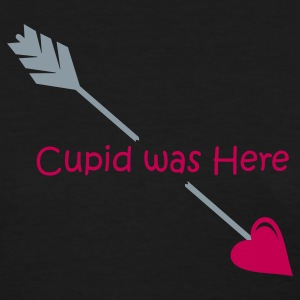Black Cupid was Here Women's T-Shirts - Women's T-Shirt