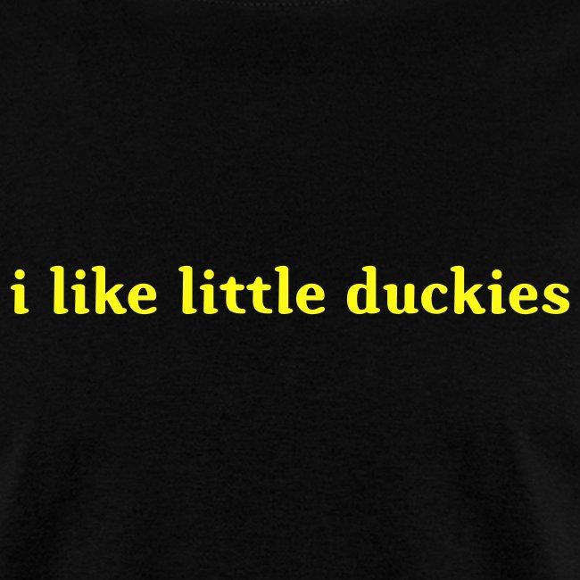 duckies - black