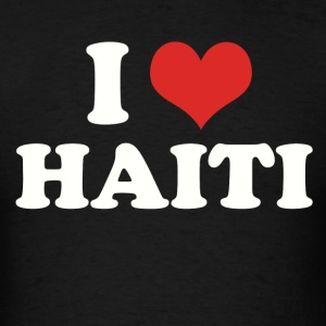 I HEART HAITI - Men's T-Shirt
