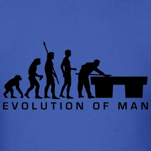 Royal blue evolution_billard_b_us T-Shirts - Men's T-Shirt