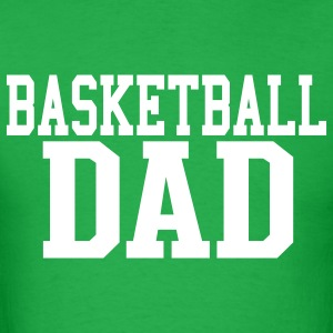 Basketball Dad Short Sleeve T-shirt - Men's T-Shirt