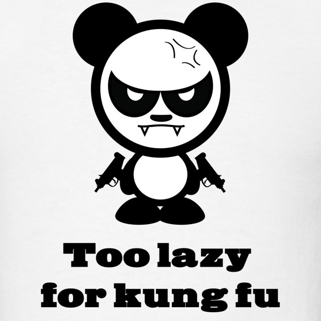 Too Lazy For Kung Fu