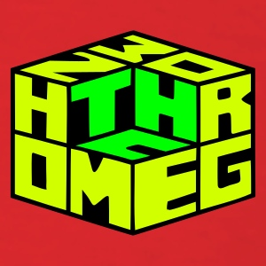 Red Homegrown [THC] Cube (3colors) T-Shirts - Men's T-Shirt