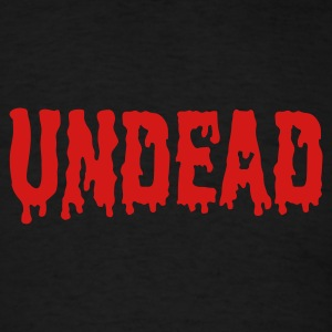 Black Undead logo T-Shirts - Men's T-Shirt