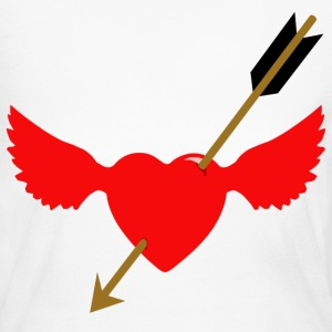 cupid at work 2 - Women's Long Sleeve Jersey T-Shirt