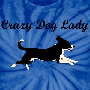 Crazy Dog Lady - Unisex Tie Dye T-Shirt