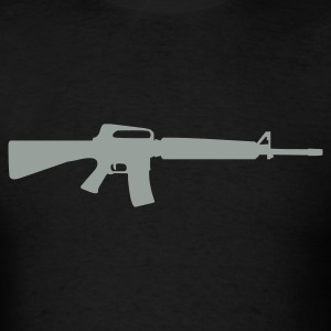 Black gun T-Shirts - Men's T-Shirt