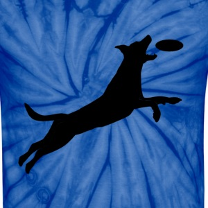 Disc Dog Leap - Unisex Tie Dye T-Shirt