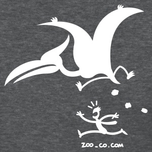 Deep heather Catastrophicus Pterodactylus Women's T-Shirts - Women's T-Shirt