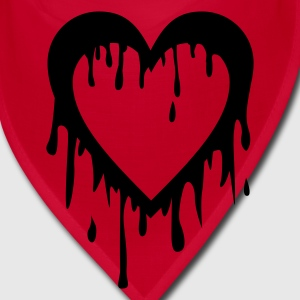 Red bleeding heart Other - Bandana