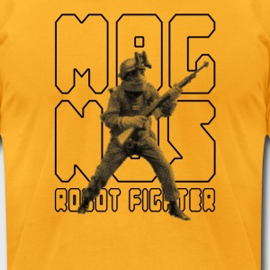 MAGNUS ROBOT FIGHTER - Men's T-Shirt by American Apparel