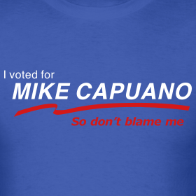 Design ~ I Voted for Capuano - Men's T