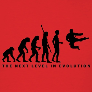 Red evolution_kung_fu_b T-Shirts - Men's T-Shirt