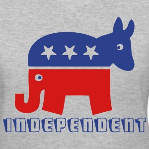 Independent Party T - Women's V-Neck T-Shirt