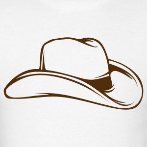 Cowboy Hat 1c - Men's T-Shirt