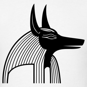 Anubis Jackal 1c - Men's T-Shirt