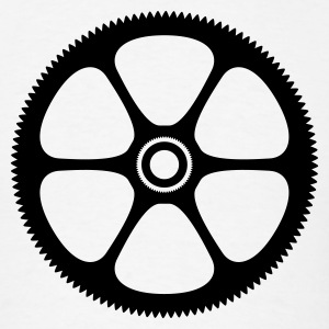 Gear Sprocket 1c - Men's T-Shirt