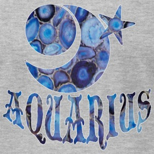 Heather grey AQUARIUS T-Shirts - Men's T-Shirt by American Apparel