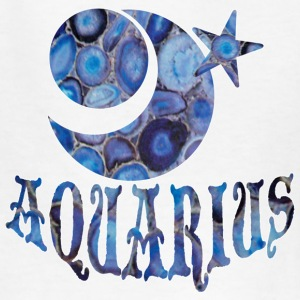 White AQUARIUS Kids' Shirts - Kids' T-Shirt