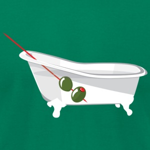 Kelly green Bathtub Gin T-Shirts - Men's T-Shirt by American Apparel