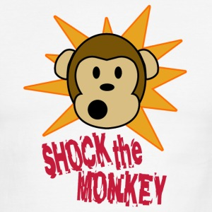 Shock the Monkey - Men's Ringer T-Shirt
