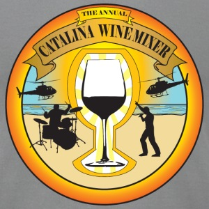 Catalina Wine Mixer T-Shirts - Men's T-Shirt by American Apparel
