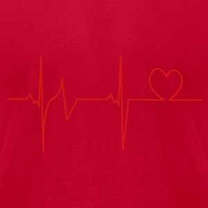 Lemon Heartbeat T-Shirts - Men's T-Shirt by American Apparel