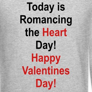 Heather grey romancing_the_heart_day Long Sleeve Shirts - Crewneck Sweatshirt