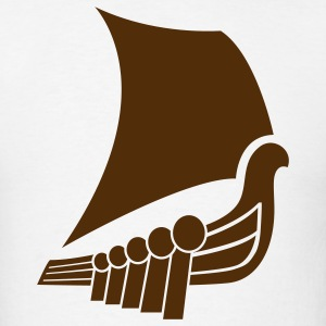 Viking Boat 1c - Men's T-Shirt