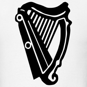 Celtic Harp 1c - Men's T-Shirt
