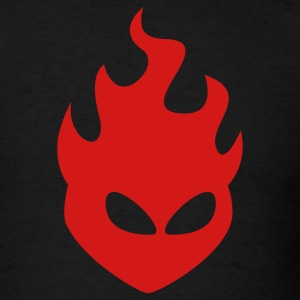 Fire Head 1c - Men's T-Shirt