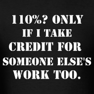 Design ~ The only way the math works for 'Give 110%'