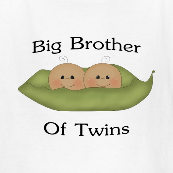 White Brother Of Twins Kids' Shirts - Kids' T-Shirt