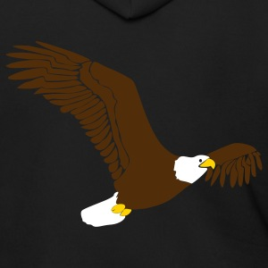 Black eagle Zip Hoodies/Jackets - Men's Zip Hoodie